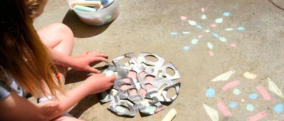 Chalk Stenciling